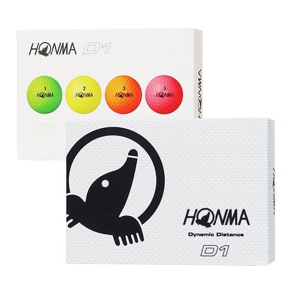HONMA  혼마 D1 비거리 특화 골프볼 골프공 2피스 상품이미지