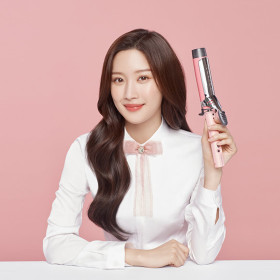 VC17MPK/-/Iron/Curling Wand/36mm/Pink