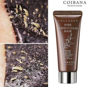COIBANA  Collagen nose pack / pore tightening serum / exfoliating / 60ml /