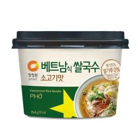 (묶음할인)대상_청정원베트남식쌀국수소고기맛_75.4G