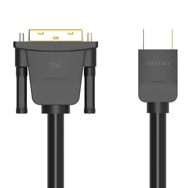 벤션 무산소 양방향 HDMI to DVI 케이블 1m /DVI듀얼 상품이미지