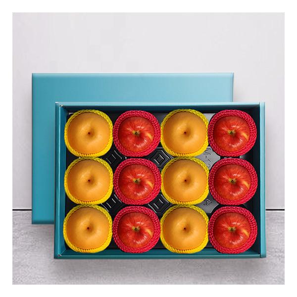 누리원  황실 사과+배 혼합 선물세트 12과(특과)/부직포가방포함 상품이미지