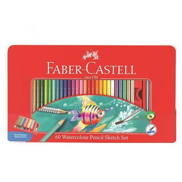 파버카스텔 수채색연필 틴 60색 스케치세트 상품이미지