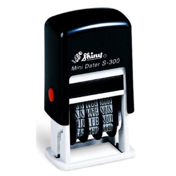 샤이니 일부인 S-300 3mm 만년자동스탬프 날짜스탬 상품이미지