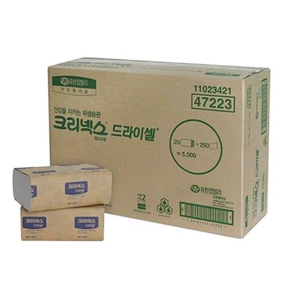 유한킴벌리)크리넥스드라이셀스탠다드F250S(250매 2 상품이미지