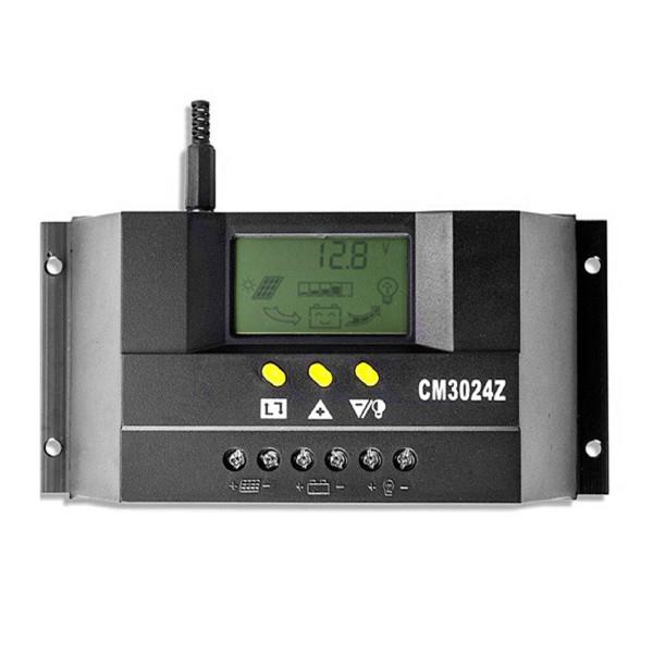 태양광충전컨트롤러 LCD 30A 12/24V PWM 솔라 태양열 상품이미지