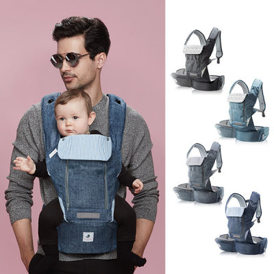 N5+ All-in-One Baby Carrier(noiseless waist belt)-4 colors