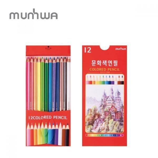 문화 지함 12색 색연필 상품이미지