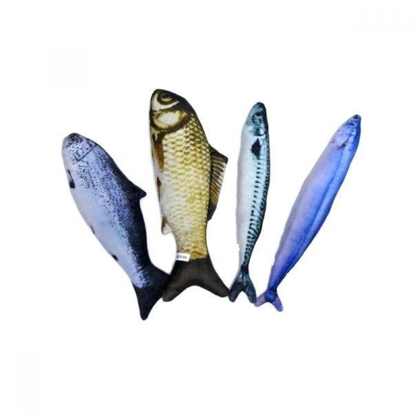 우쭈쭈 캣닢 물고기 30cm (붕어) 상품이미지