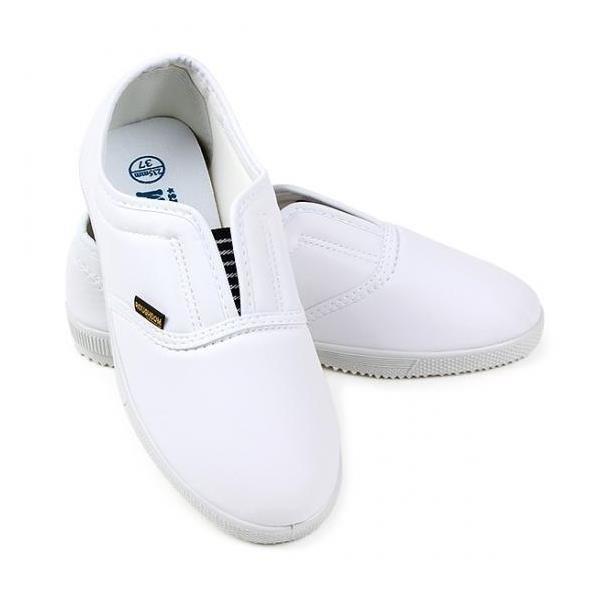(백색)실내화 단화 학교실내화 레자실내화 간호사신발 상품이미지