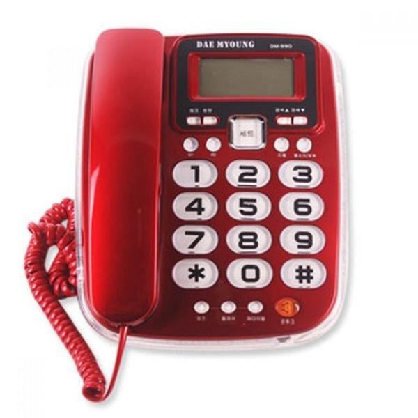 네온램프 전화기 DM-990 상품이미지
