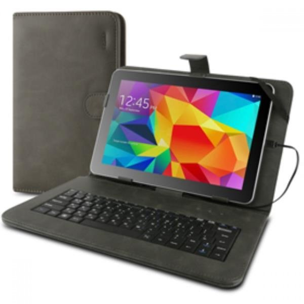 태블릿PC 거치대 키보드 9 10형케이스 그레이 상품이미지