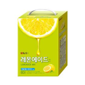 담터 레몬에이드 80입 아이스티