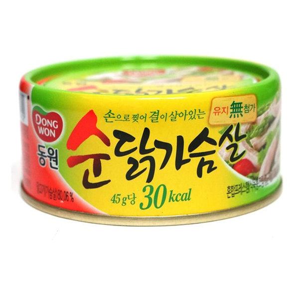 통조림/순닭가슴살/135g x36캔/동원/Z90 상품이미지