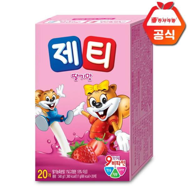 제티 딸기맛 20개입 /초코맛/바나나맛 상품이미지
