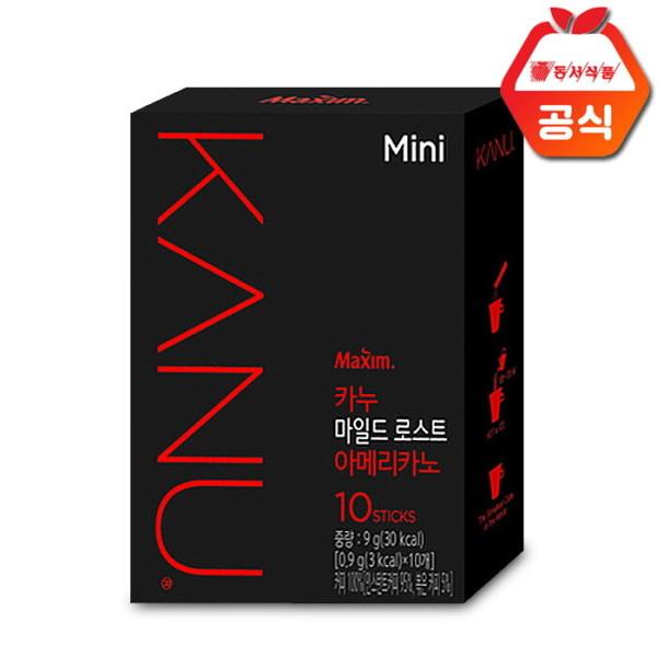 맥심 카누미니 마일드 로스트 아메리카노 10T /원두 상품이미지