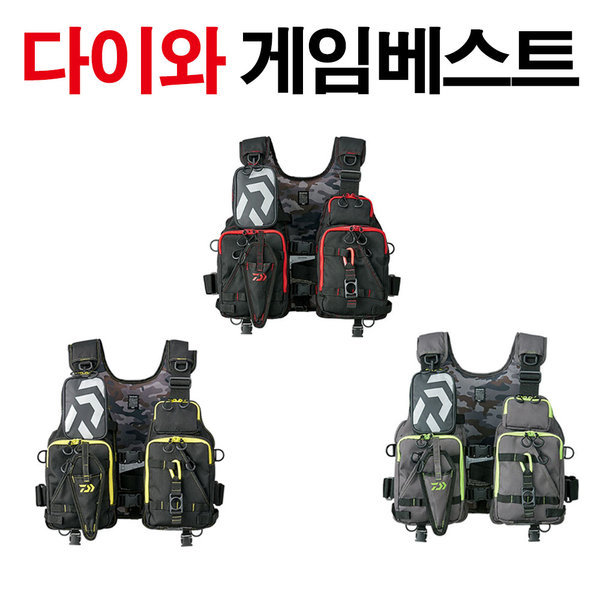 다이와 플로트 게임 베스트 DF-6206/구명조끼 구명복 상품이미지