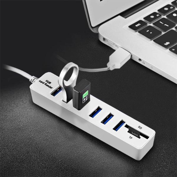 당일배송 6포트 USB 허브 멀티 USB 콤보 허브 상품이미지