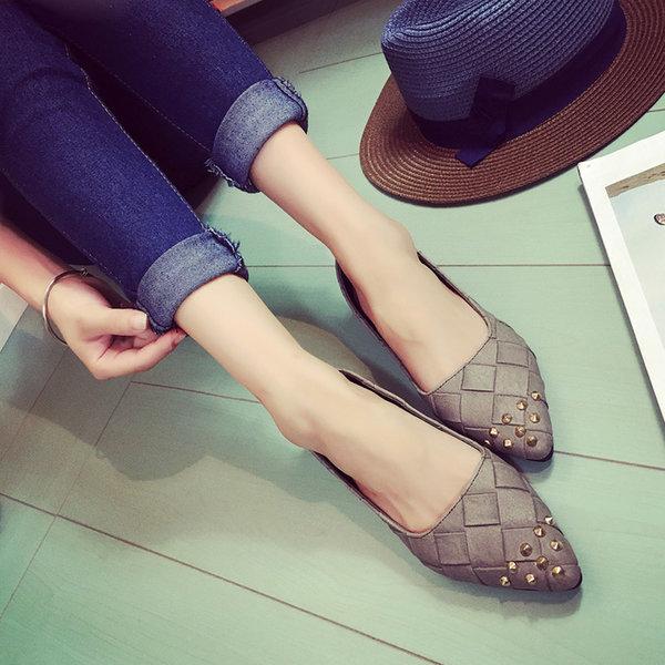피터즈 스틸레토스터디플랫 -2.5cm 여성신발 로퍼 단화 상품이미지