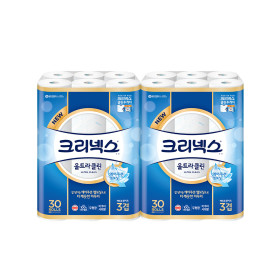 울트라클린 27M30롤x2팩/화장지/휴지+증정품