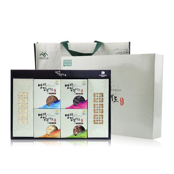 친환경 무농약 명작 잡곡 선물세트 2.9kg / 3.7kg 상품이미지