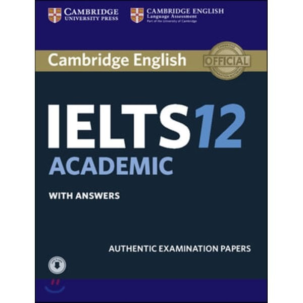 Cambridge IELTS 12 : Academic Student s Book with Answers : Authentic Examination Papers  Cambr... 상품이미지