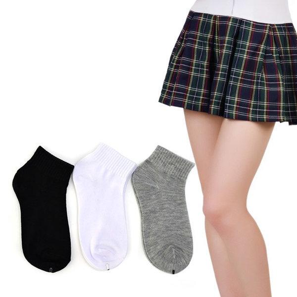 여자 학생카바 양말 10켤레 교복 유니폼용 상품이미지