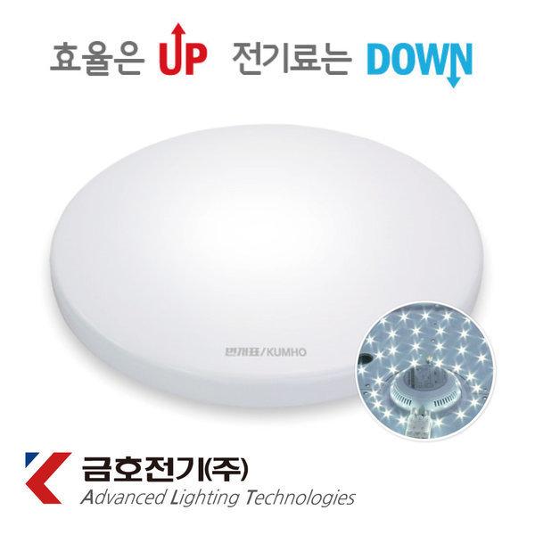 번개표LED원형방등 50W 거실등 LED방등 공부방 안방등 상품이미지