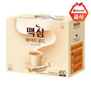 [맥심]화이트골드 커피믹스 400T