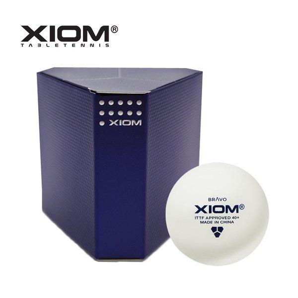 엑시옴 BRAVO 탁구공(6개입) 경기용 탁구 시합구 상품이미지