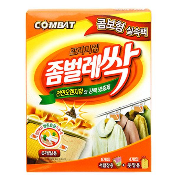 컴배트 좀벌레싹 콤보실속팩 서랍장8개+옷장4개입 상품이미지