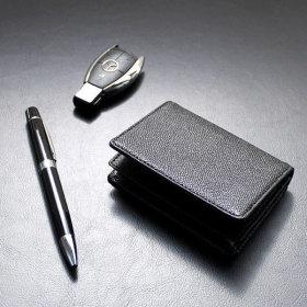 리더플랜 소가죽 명함지갑 볼펜 선물세트 기념품