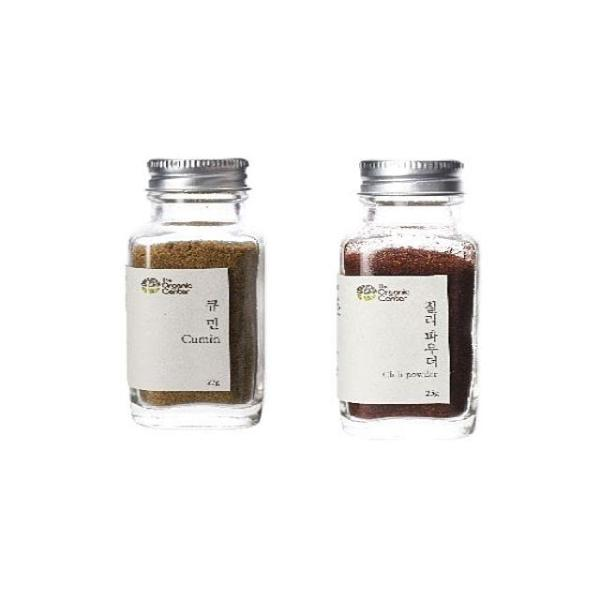 (향신료 세트)큐민 파우더 23g x 칠리파우더 25g 상품이미지