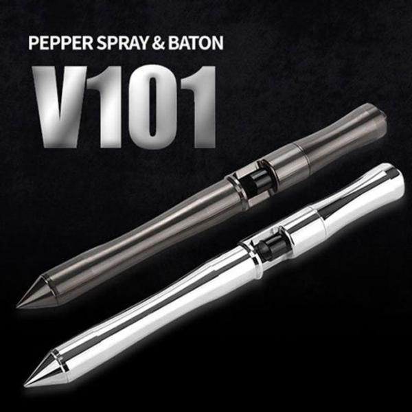 가스총과 호신용삼단봉이 하나로 V101비상망치 상품이미지