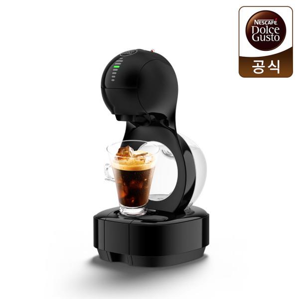 네스카페 돌체구스토 루미오 블랙 캡슐 커피머신 상품이미지
