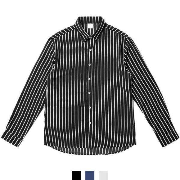 남자셔츠 데일리 스트라이프 셔츠 상품이미지