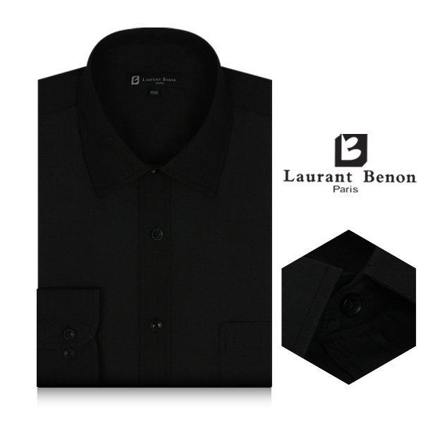 로랑베농 긴팔빅사이즈와이셔츠 LB1806(블랙)일반핏 상품이미지