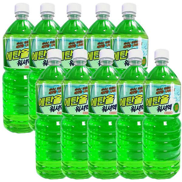 -25도ok 순수 에탄올 워셔액 1.8LX12개/유리세정제 상품이미지