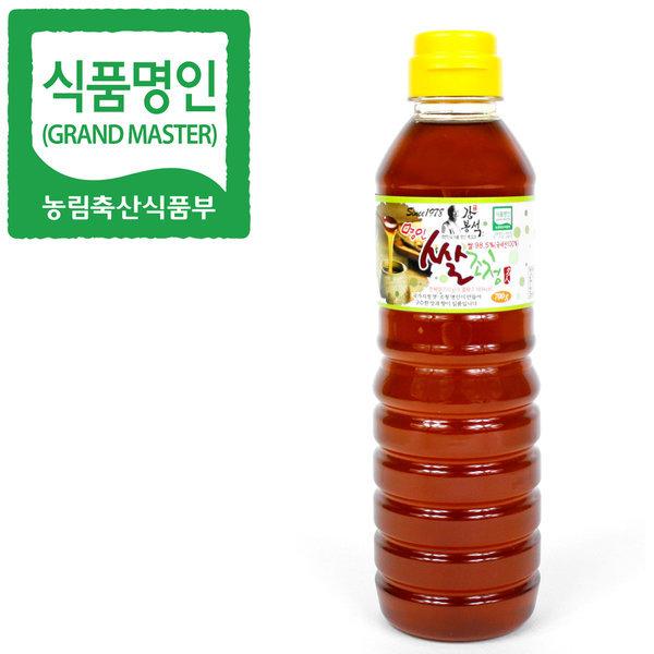 식품명인 강봉석 쌀조청 700g/조청 물엿 올리고당 꿀 상품이미지