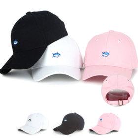 야구 모자 자수 볼캡 군모 무지 워터파크 남녀공용 FSH