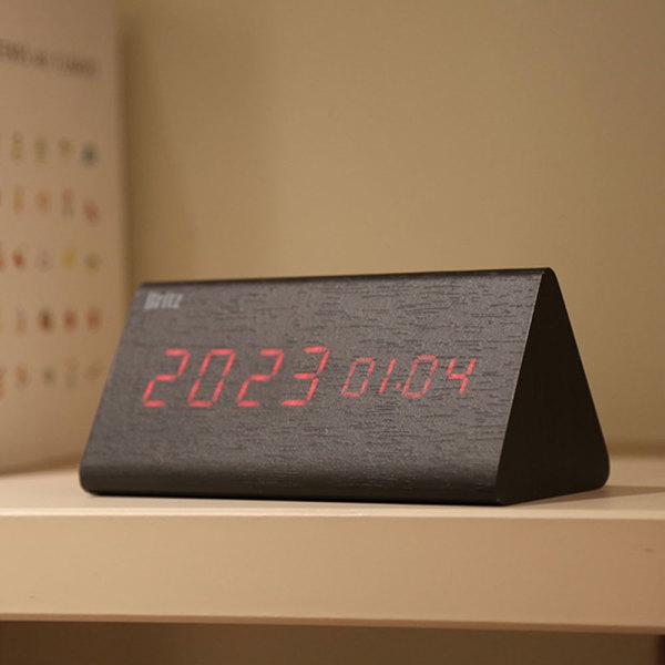 LED 탁상시계 알람시계 BZ-EWS12 온도계 인테리어소품 상품이미지
