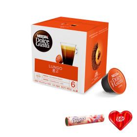 돌체구스토 캡슐 커피 룽고 16캡슐 공식판매점