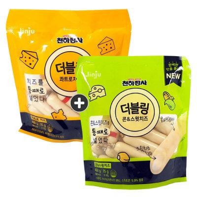 [Cheonhajangsa] DoubleRing 400g x 1 pack Sausage snack Beer snack