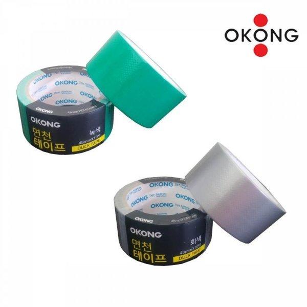 오공 강력 면테이프 청면 은면 48mm x 10M 색상 택1 상품이미지