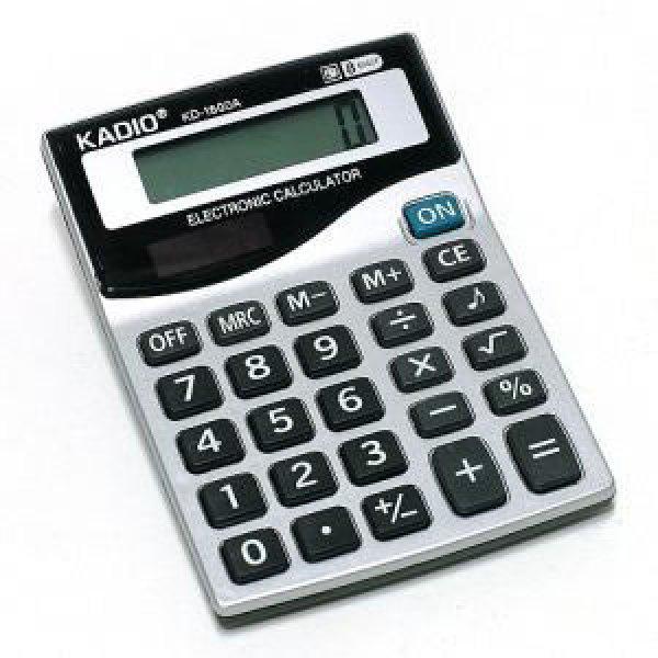 KADIO 8자리 포켓형 업무용 영업용 휴대간편 계산기 상품이미지