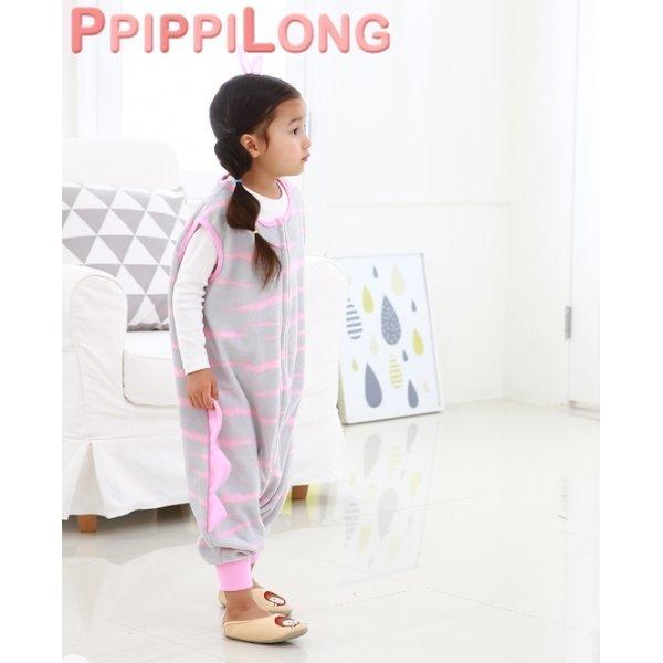 삐삐롱 유아 아동 슬립색 수면조끼 바지 잠옷 실내복 상품이미지