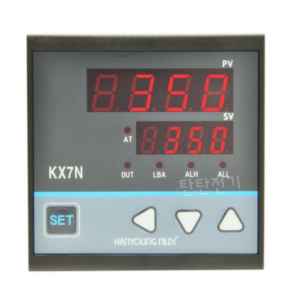 KX7N-MENA KX7N-SENA KX7N-CENA 온도조절계 한영넉스 상품이미지
