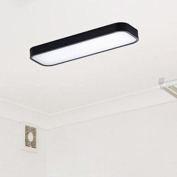 위브 LED 욕실등 / 주방등 25W (블랙/화이트) 상품이미지
