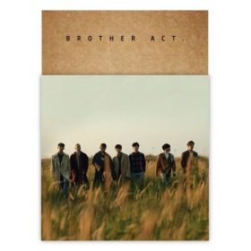 BtoB - Brother Act.[2nd Album] Booklet+Photocard+Bookmark+Paper Stand