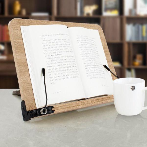 오 102 독서대 체리 책퍼짐방지특허 휴대용 북엔드 상품이미지